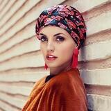 Boho Turban Set Signature Flower