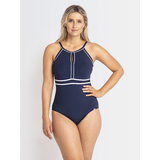 Jantzen Classic Keyhole Highneck Mastectomy One Piece