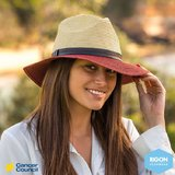 Cancer Council Two Tone Fedora