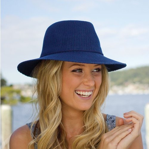 Cancer Council Jacqui Manish Hat Navy